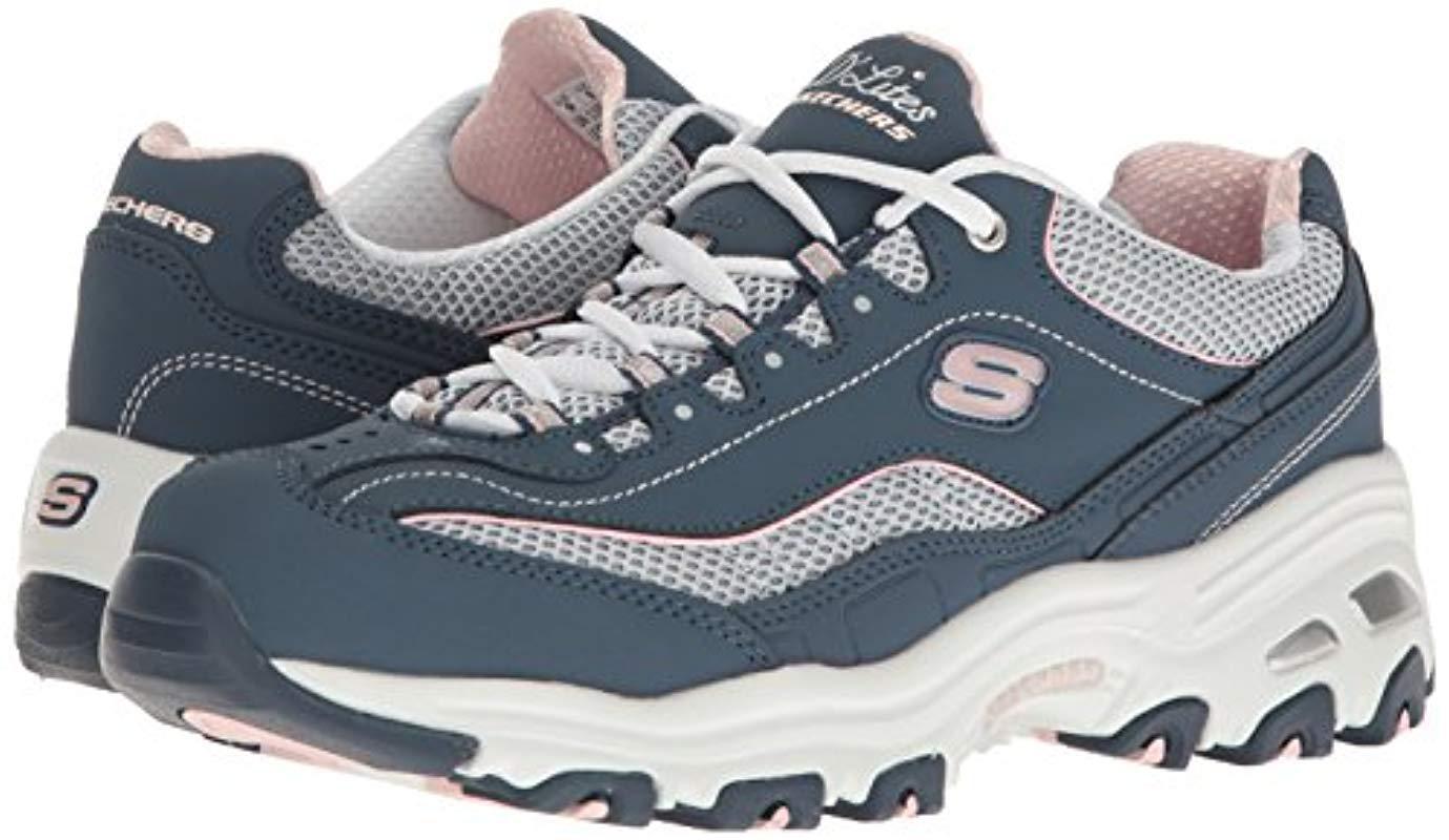 Skechers Blue Low top Sneakers