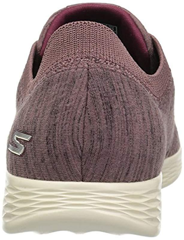 4667802992e Lyst - Skechers You Define-passion Slip On Trainers in Purple - Save 33%