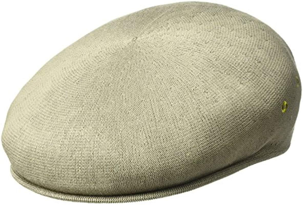 2d0959aa Lyst - Kangol Bamboo 7100 Over Sized Ivy Cap in Green for Men - Save 4%