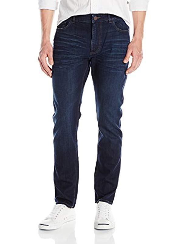 99949f21c40 DL1961 - Blue Cooper Relaxed Skinny Fit Jean In Ridge for Men - Lyst. View  fullscreen
