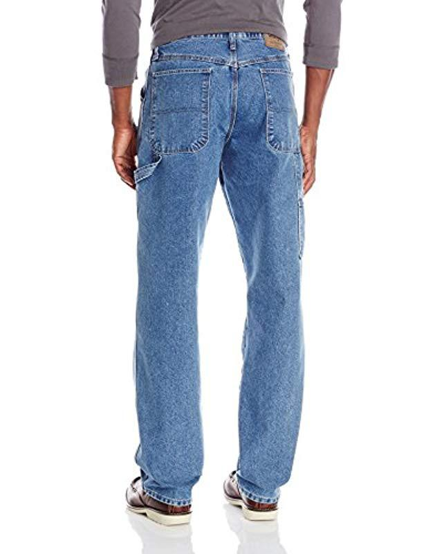 d2811bfd Lyst - Wrangler Authentics Big & Tall Classic Carpenter Jean in Blue for Men