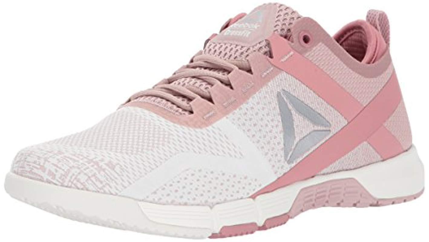 fecc8171b49 Lyst - Reebok Crossfit Grace Tr Cross Trainer in Pink - Save 46%