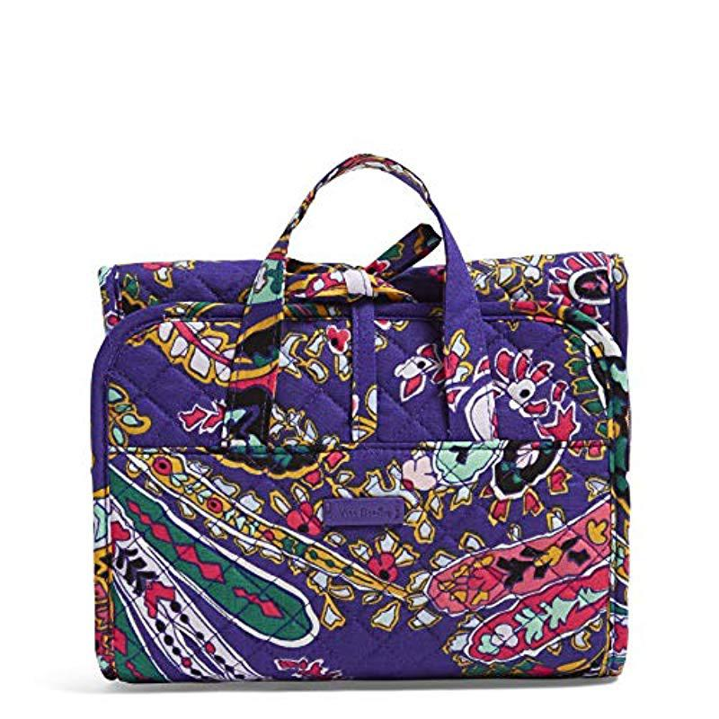 d80526dfd Lyst - Vera Bradley Iconic Compact Weekender Travel Bag, Signature ...