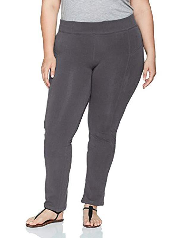 7f785bc54a9 Lyst - Columbia Size Anytime Casual Straight Leg Pant Plus in Gray