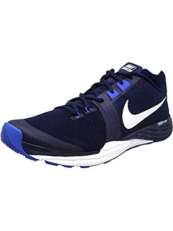 Lyst - Nike Train Prime Iron Df Cross Trainer Shoes in Blue for Men ... 827db6257