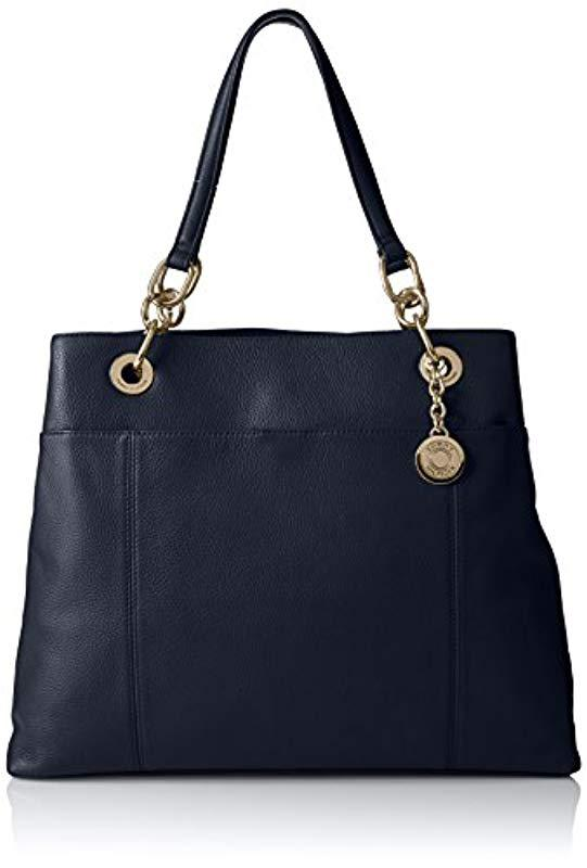 441dc1c95a3c9 Tommy Hilfiger. Women s Blue Tote Bag For Th Signature