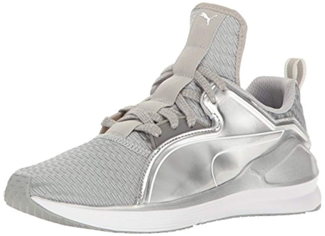 93ef2ce646c1 Lyst - PUMA Fierce Lace Metallic Wn s Cross-trainer Shoe in Metallic