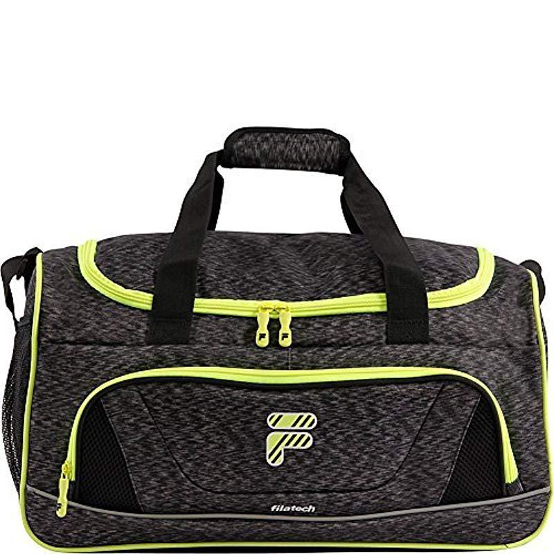 Lyst - Fila Victory 2.0 Gym Sports Bag Gym Bag in Black - Save 11% d25a3f8859c1d