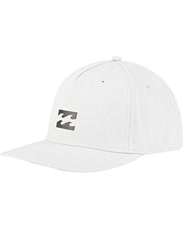 Lyst - Billabong Airlite Stretch Hat in White for Men 425058966417