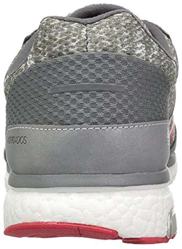 reputable site d82f0 e72dc Adidas - Gray Performance Adizero Adios 3 Aktiv Running-shoes for Men -  Lyst. View fullscreen
