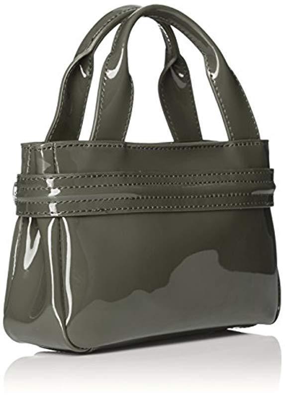 Armani Jeans - Green Eco Patent Leather Crossbody Mini Bag - Lyst. View  fullscreen ccd0c9842d972