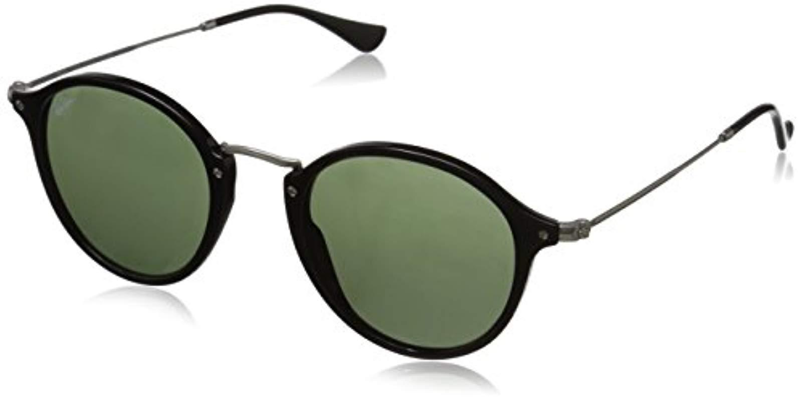 c9779e4901 Lyst - Ray-Ban 0rb2447 Round Sunglasses in Black for Men - Save 26%