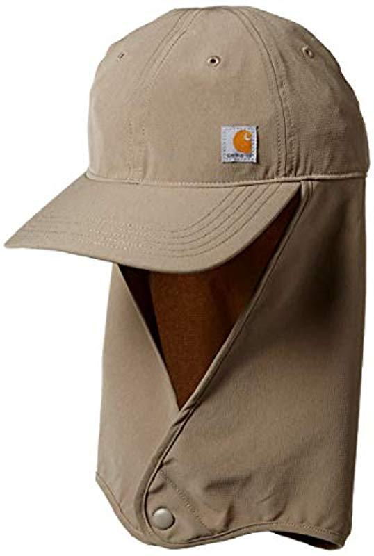 26378e560522f Lyst - Carhartt Force Extremes Angler Neck Shade Cap for Men