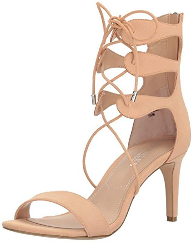 a3449d16165f1d Lyst - Charles David Zone Dress Sandal in Natural - Save 56%