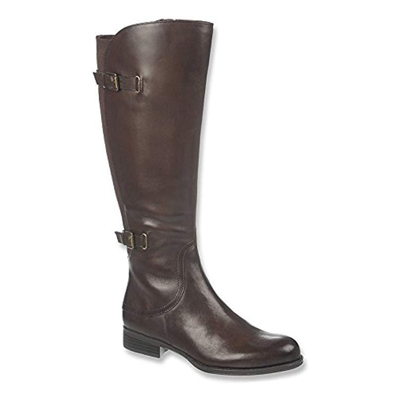 d6ed3e1a198 Naturalizer - Brown Jamison Riding Boot - Lyst. View fullscreen