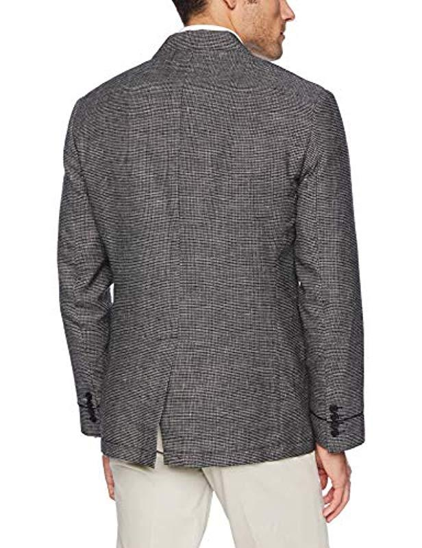 7737ec3192712 Lyst - John Varvatos Star Usa Notch-lapel Sportcoat With Piping in Black  for Men
