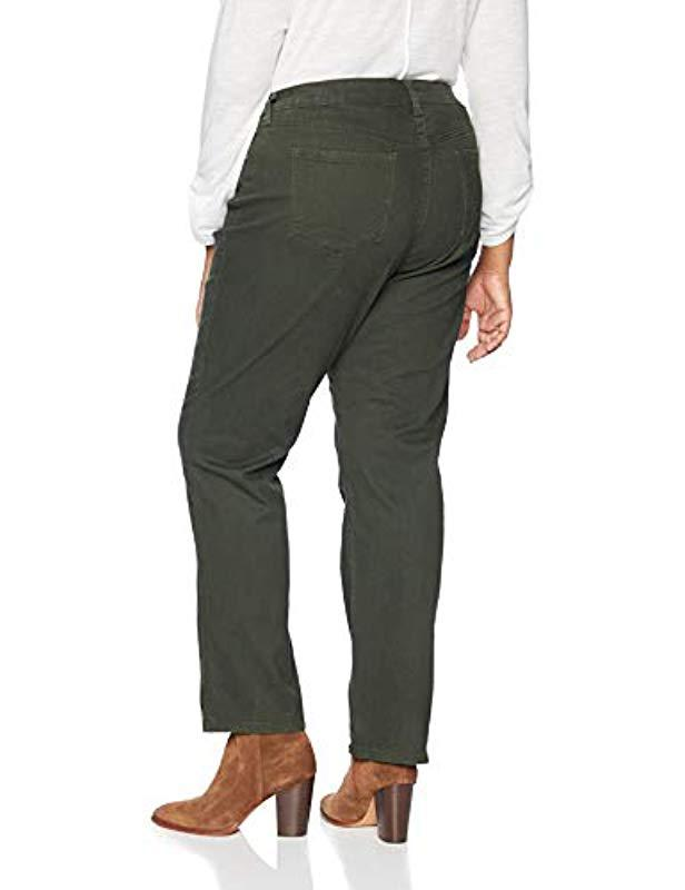 a442bec2710 Lyst - Bandolino Plus Size Mandie Signature Fit 5 Pocket Jean