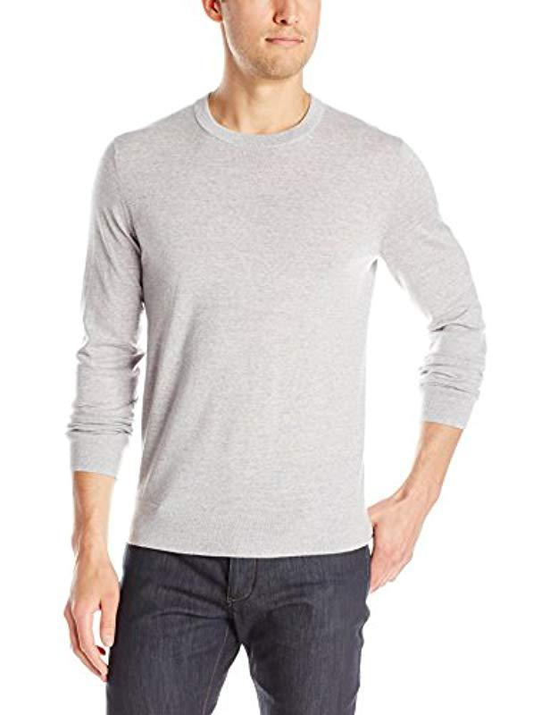 Lyst - Theory Riland New Sovereign Pullover Crew-neck Sweater in ... a658e81c3