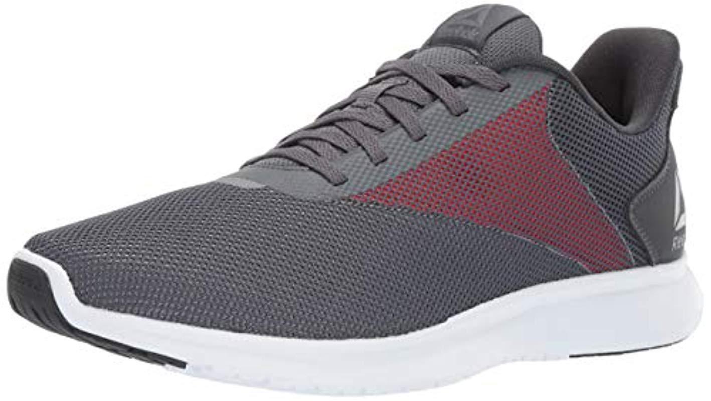 1852bb331 Lyst - Reebok Instalite Lux Running Shoe in Gray for Men