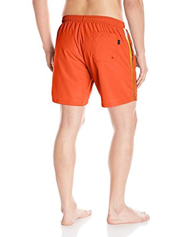 9cef7a4ee Lyst - Boss Boss Seabream Swim Trunks in Orange for Men