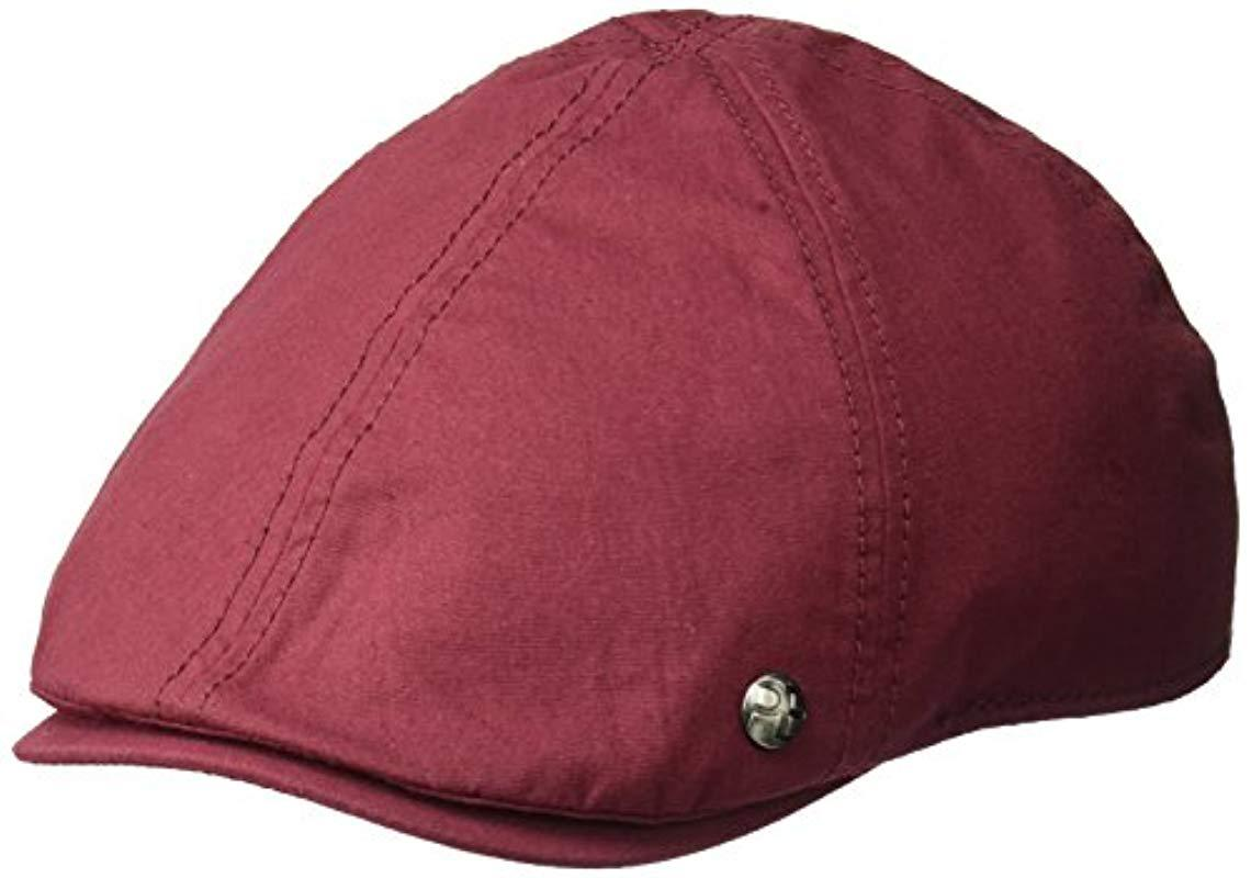 3c22abf26ee Lyst - Perry Ellis Cotton Twill Driver Cap for Men - Save ...