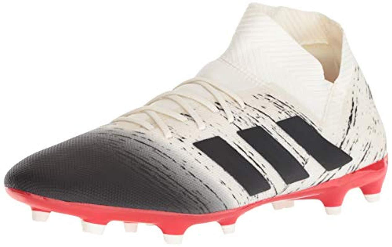 cc3a22515 Lyst - adidas Nemeziz 18.3 Firm Ground Soccer Shoe in White for Men