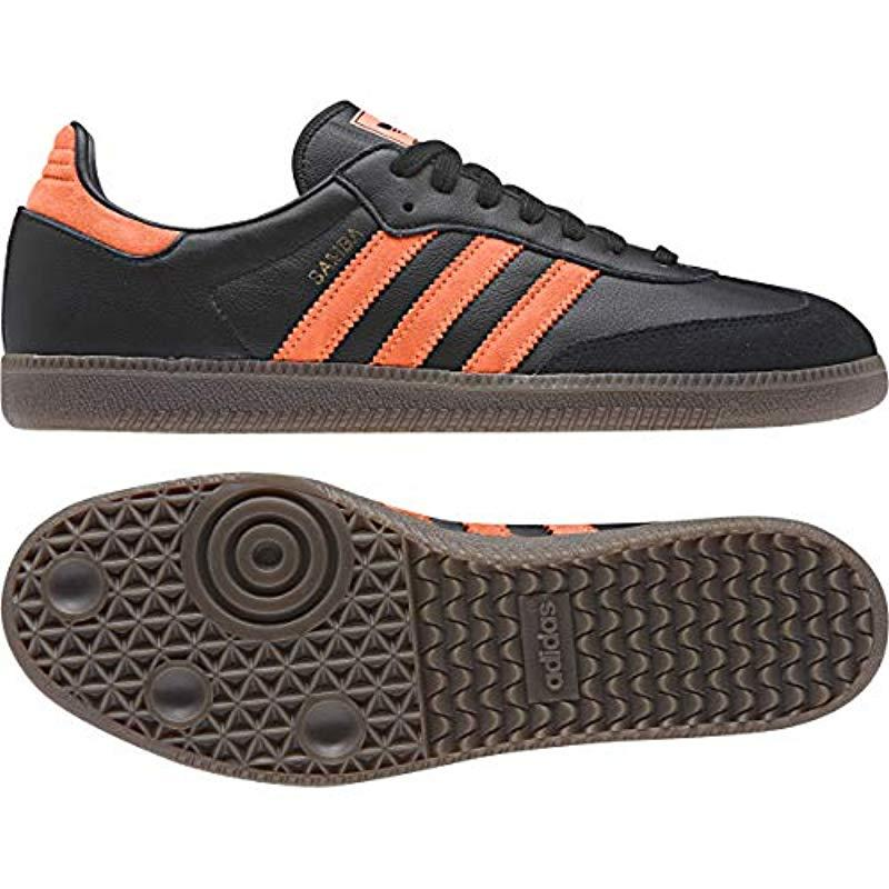 cdaed75991f adidas Performance Samba Classic Indoor Soccer Shoe in Black for Men ...