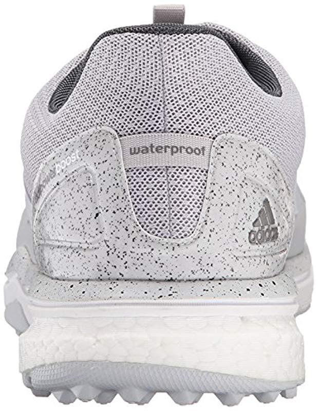 half off 70169 2f38b Lyst - adidas Adipower S Boost 2 Golf Cleated in Gray for Men - Save  33.70786516853933%