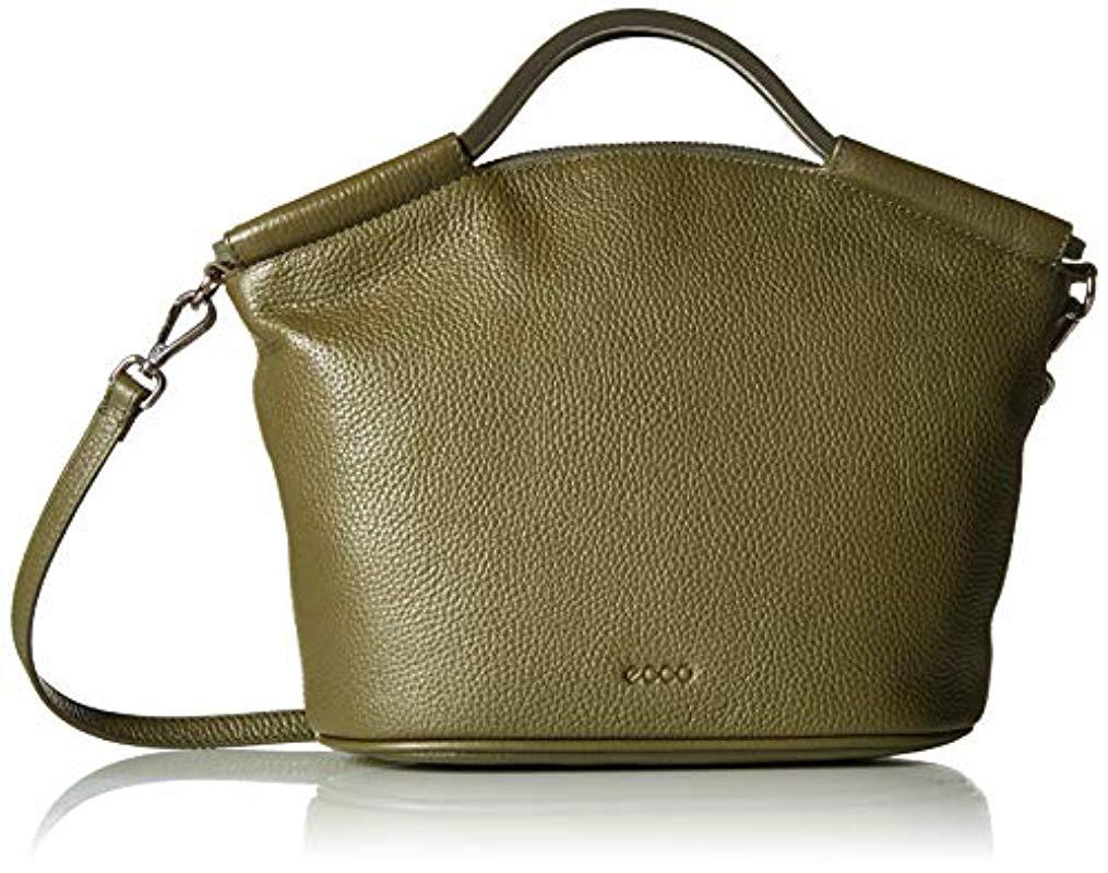 Lyst - Ecco Sp 2 Medium Doctor s Bag in Green - Save 1% 29802ff7c1872