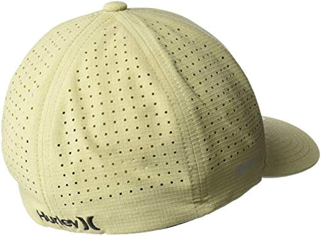 Lyst - Hurley Phantom Ripstop Curved Bill Baseball Cap in Natural ... cd50d39b90e