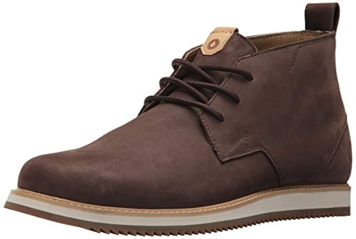 74d7d3d0647 Men's Brown Del Coasta Leather Shoe Chukka Boot