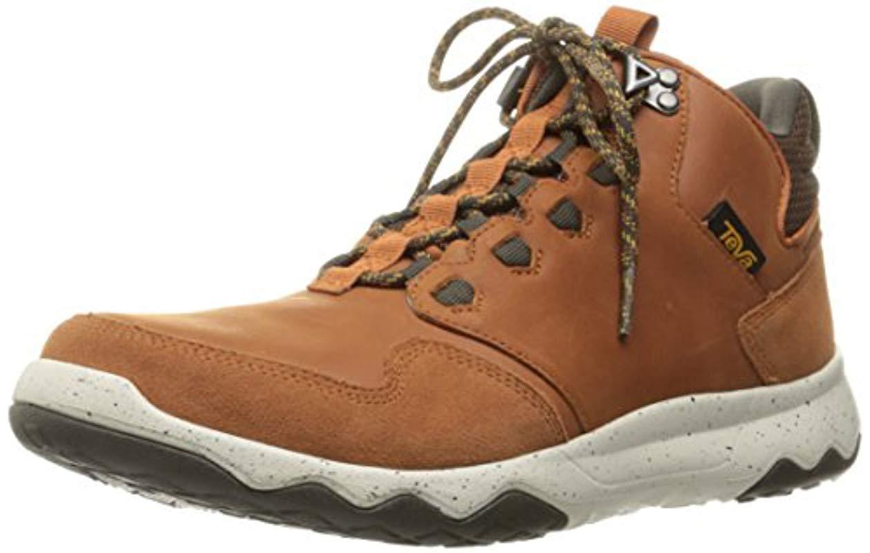0161d9ccb184 Lyst - Teva M Arrowood Lux Mid Waterproof Hiking Boot in Brown for ...