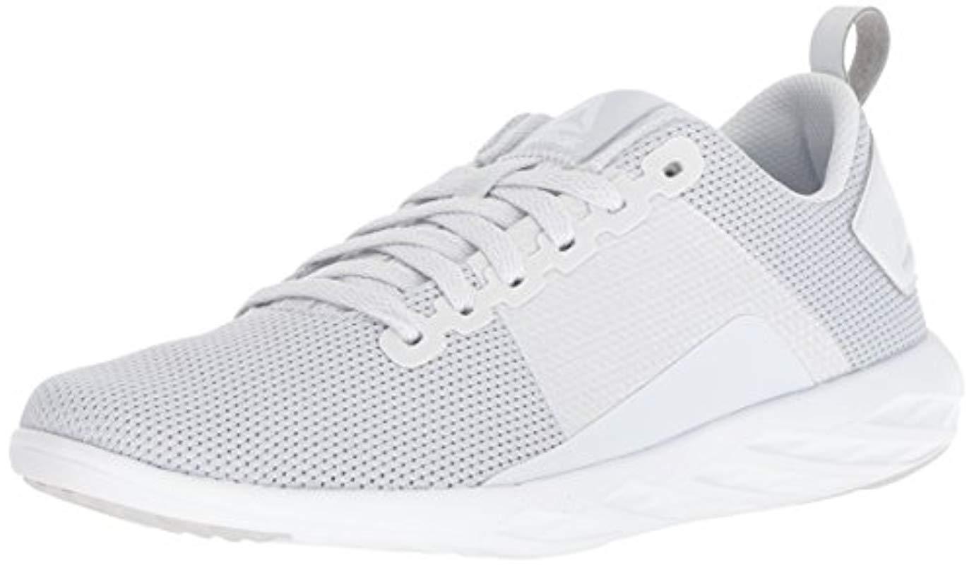 Lyst - Reebok Astroride Walk Shoe in White 980d8f017
