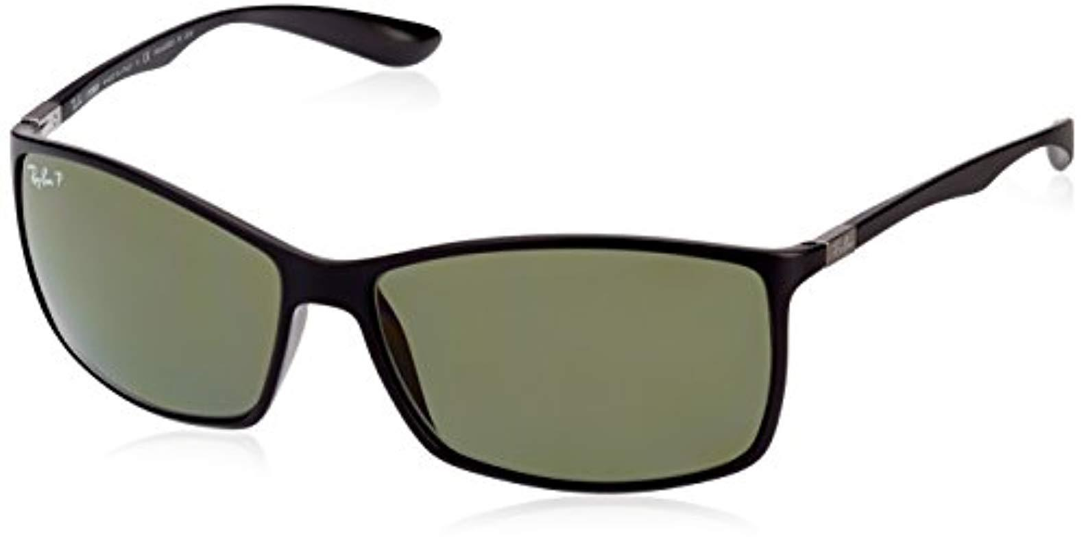 15aef07e07f Lyst - Ray-Ban Liteforce Tech Rb4179 Sunglasses in Black for Men ...