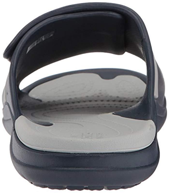 2d6f3c8b0f95 Crocs™ - Gray Unisex Modi Sport Slide Sandals - Lyst. View fullscreen