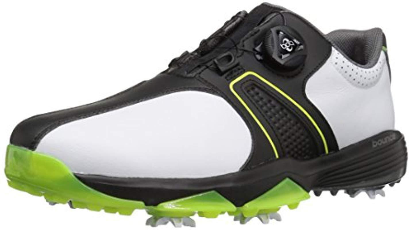 b620ab203 Lyst - adidas 360 Traxion Boa Wd Cblack Golf Shoe in Black for Men ...