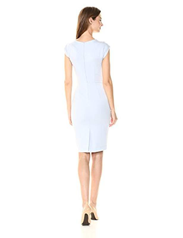 5e6a6698b83 Lyst - French Connection Lula Stretch Dress in White - Save 41%