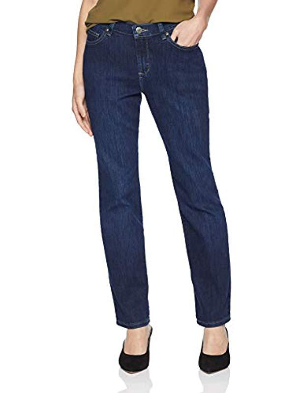 a0b53f5331 Lyst - Lee Jeans Petite Relaxed Fit Straight Leg Jean in Blue