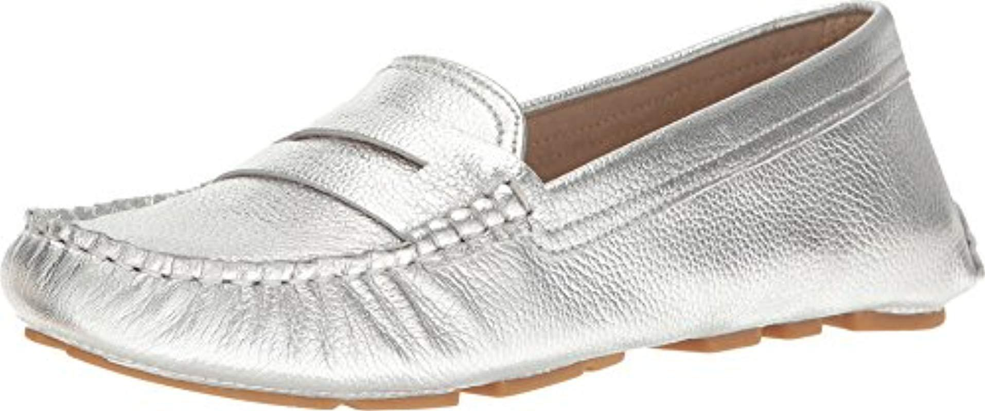 24a5fd89832 Lyst - Sam Edelman Filly Penny Loafer in Metallic - Save 75%