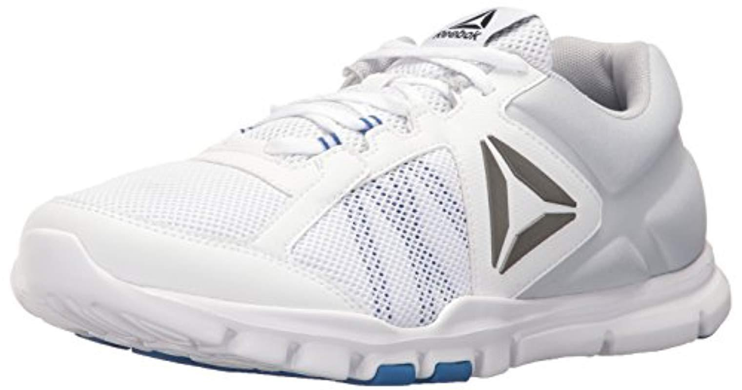 Lyst - Reebok Yourflex Train 9.0 Mt Running Shoe in White for Men ... c4caee60d