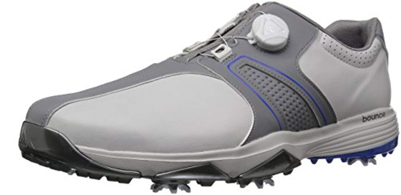 best loved 10ef7 5f608 adidas. Mens Gray 360 Traxion Boa Golf Shoe