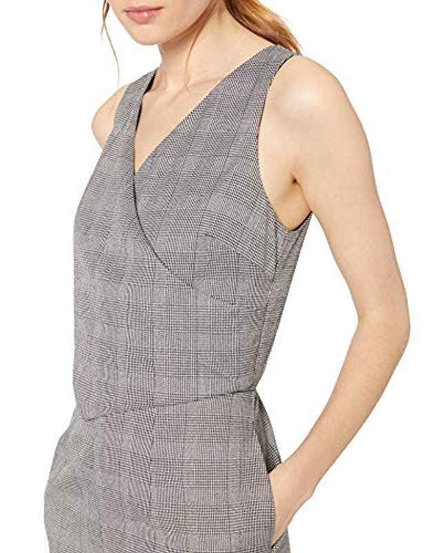 ad15cc276d12 Lyst - Ali   Jay Serious Business Sleeveless Straight Leg Slim Jumpsuit in  Gray