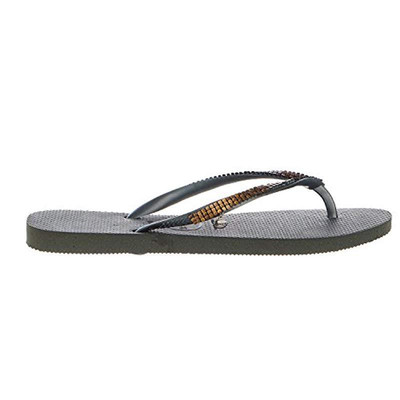 5f07ebd649cfc Havaianas. Women s Green Slim Flip Flop Sandals ...