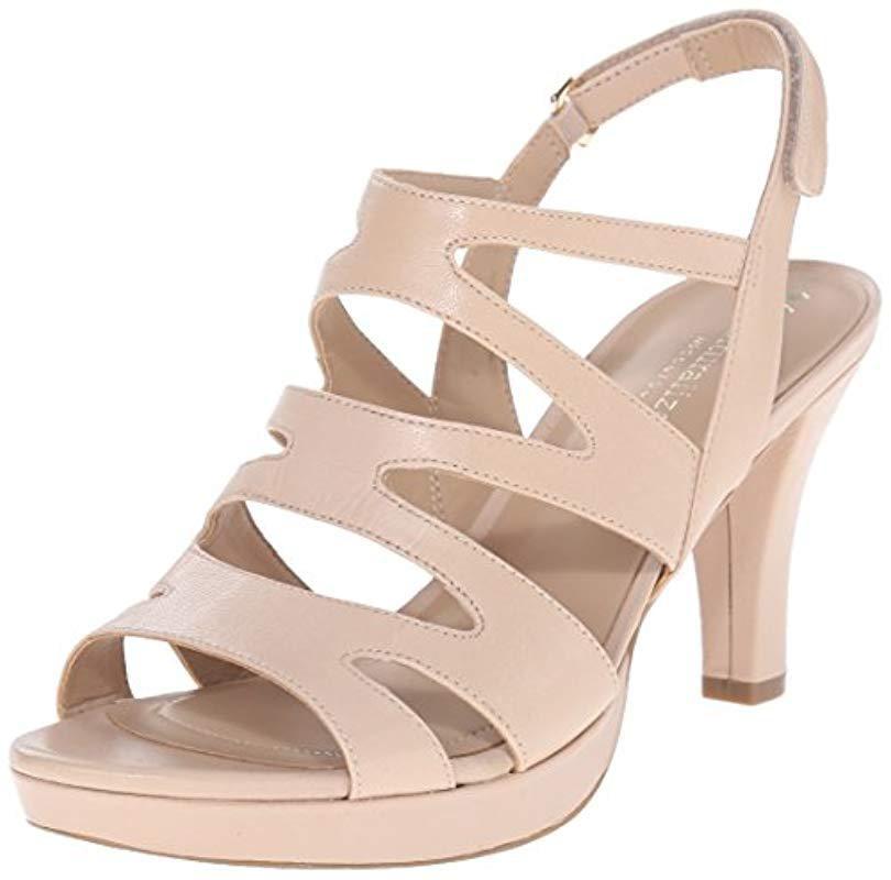 5de2899a7e41 Lyst - Naturalizer Pressley Platform Dress Sandal - Save ...