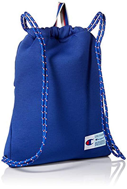 687d92cddb81 Lyst - Champion Attribute Gym Sack in Blue for Men