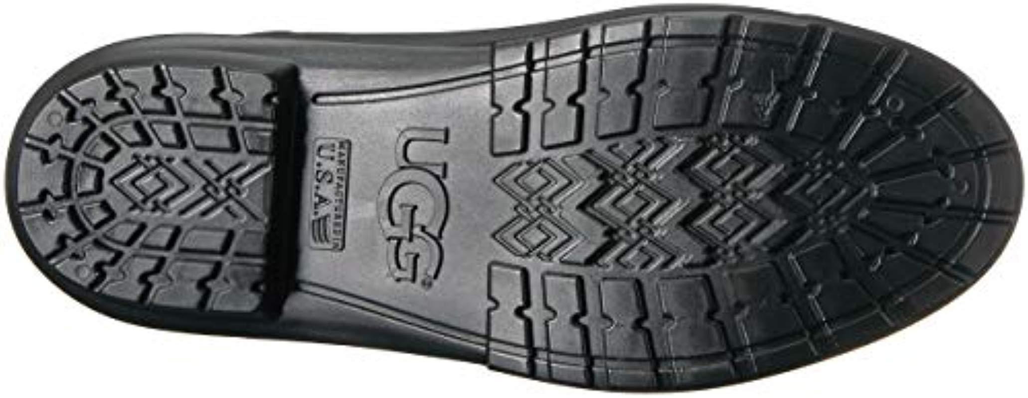 8e475986f9f Lyst - UGG Sienna Matte Rain Boot Black 12 M Us in Black