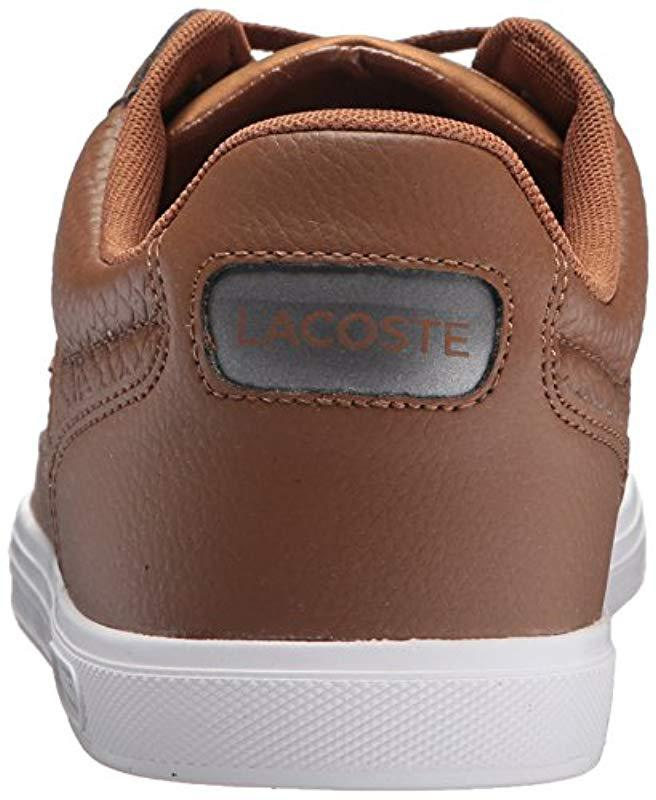35fa8157a37e48 Lyst - Lacoste Europa 417 1 Sport (dark Brown) Men s Shoes in Brown for Men  - Save 26%