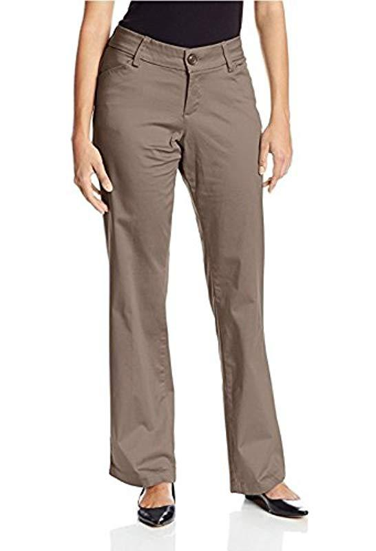 944781a9 Lyst - Lee Jeans Modern Series Curvy Fit Maxwell Trouser - Save 29%