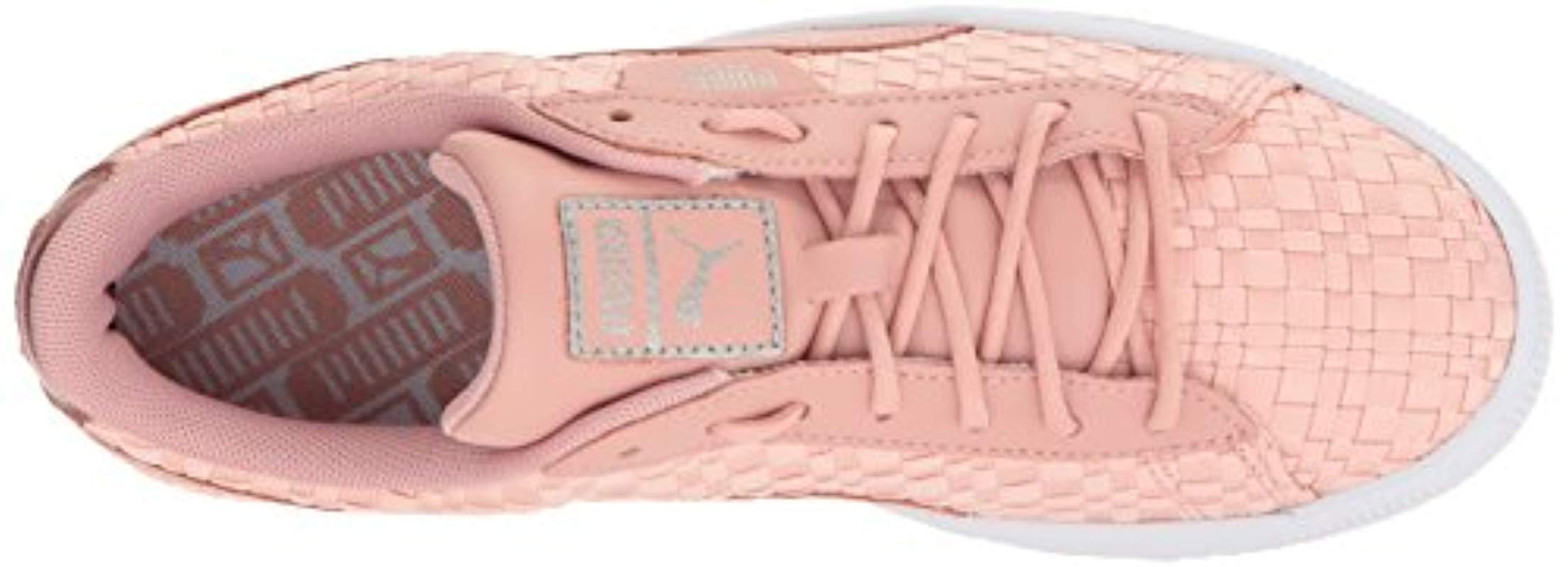 fd749bb95ae PUMA - Pink Basket Satin En Pointe Wn Sneaker - Lyst. View fullscreen
