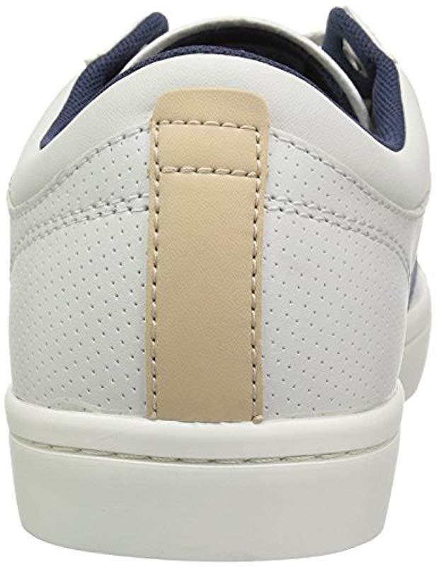 57b7177c7 Lyst - Lacoste Straightset Sneaker in White for Men